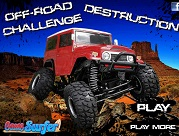 Off Road Challenge Destruction