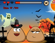 Pou Halloween Kis...
