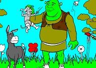 Shrek Drawing